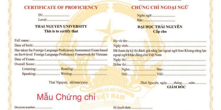 b2 đại học thái nguyên