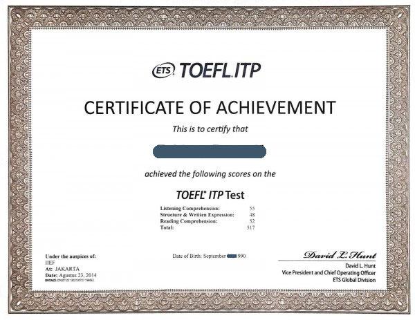 TOEFL có thời hạn bao lâu