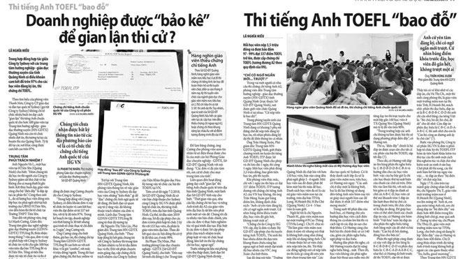 TOEFL ITP bao đỗ
