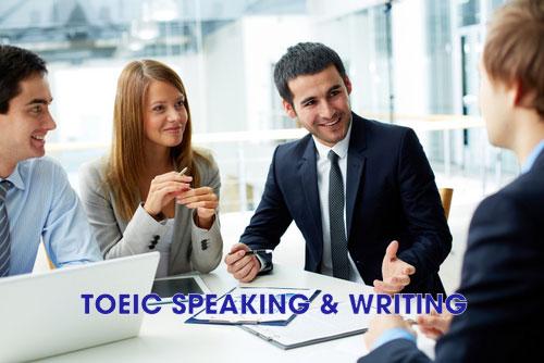 speaking writing TOEIC