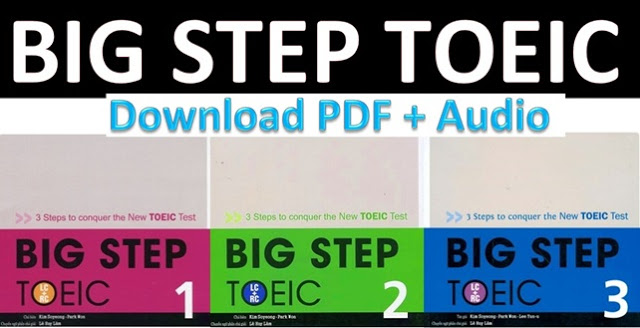big step toeic 1 bản màu
