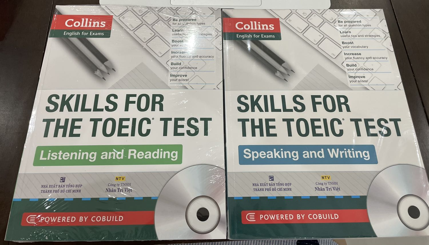 collins toeic speaking and writing