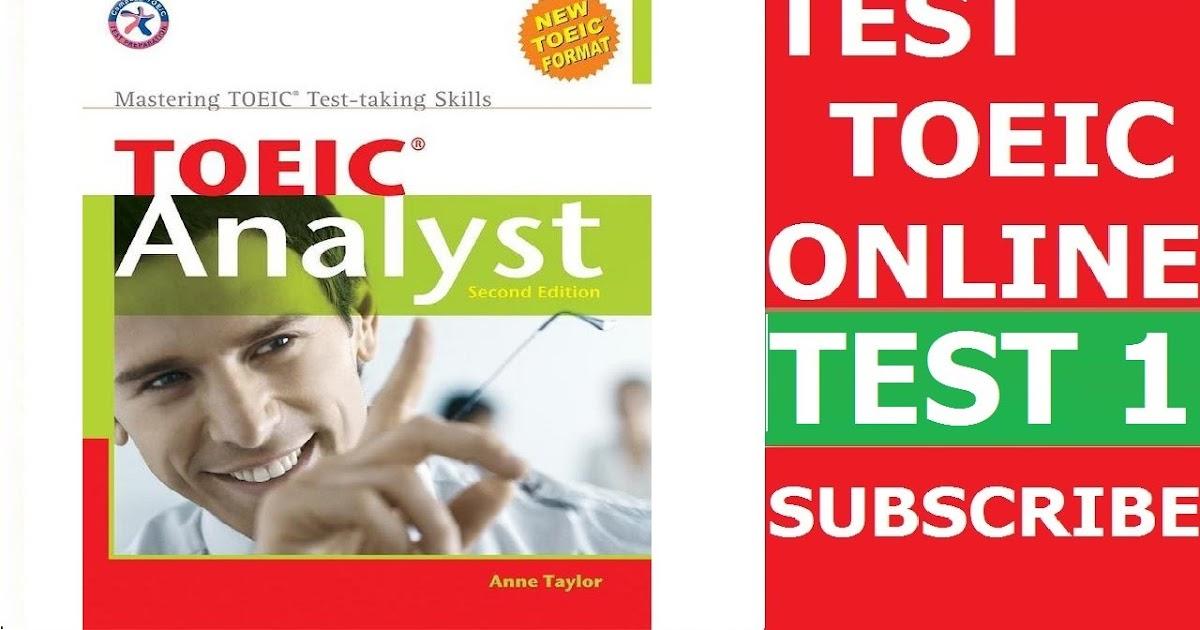 sách toeic analyst