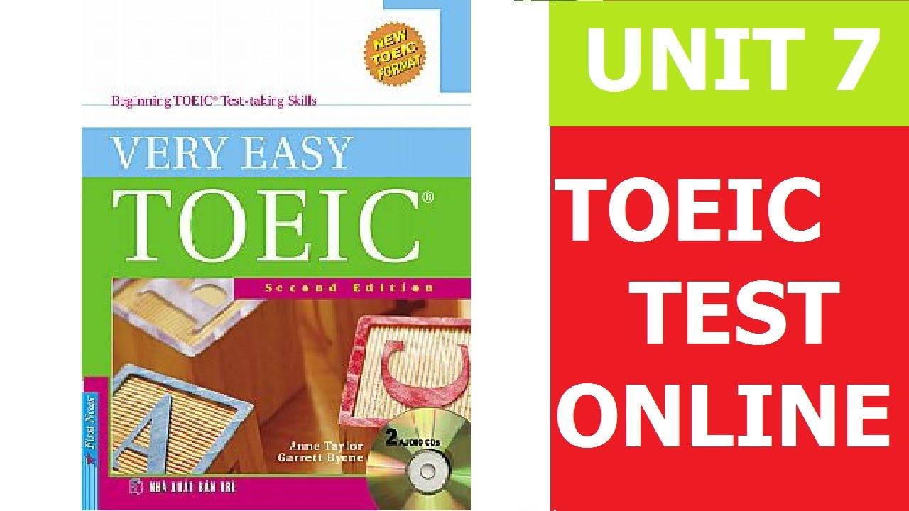 very easy toeic unit 2