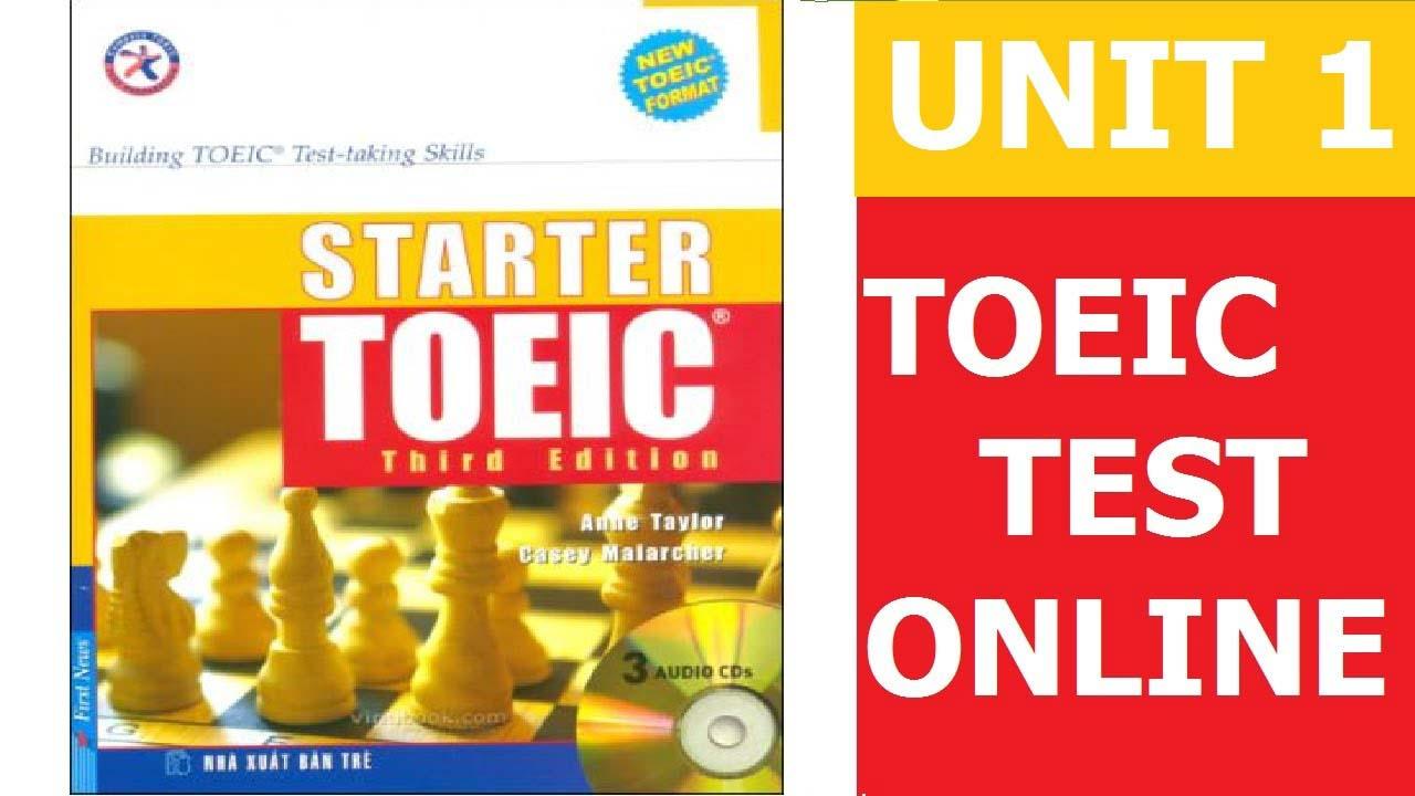 unit 5 starter toeic